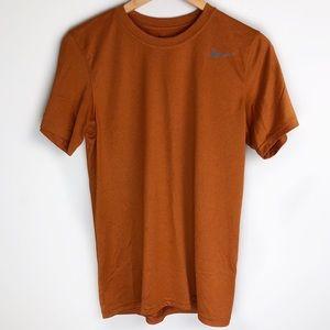 Nike Men's Dri-Fit Tee Burnt Orange